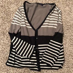 Striped Cardigan from Francesca's Collections